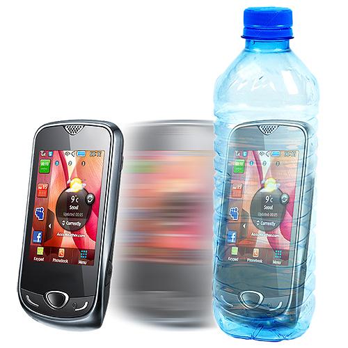 Phone in Bottle Trick & Video (3883-w10)