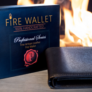 The Professional's Fire Wallet by Murphy's Magic (2290)