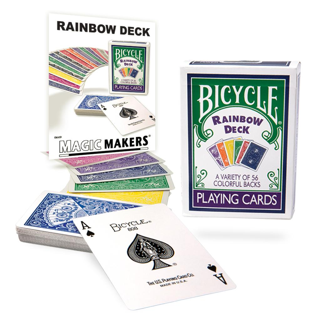 Bicycle Rainbow Deck  (3059)