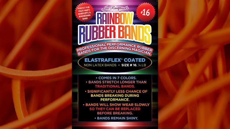 Joe Rindfleisch's Rainbow Rubber Bands #16 Oranje (4877)