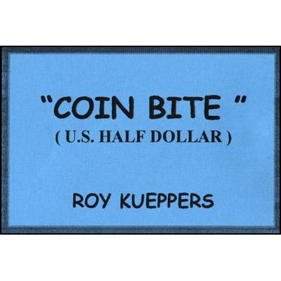 Bite from Coin Half Dollar (1219)