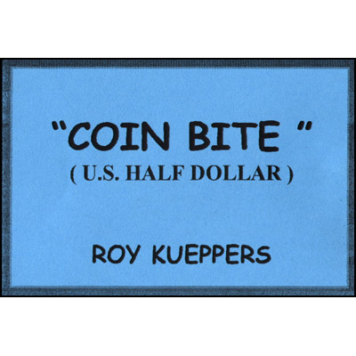 Bite from Coin Half Dollar (1219)