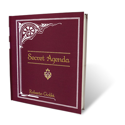 Secret Agenda by Roberto Giobbi Boek (B0239)
