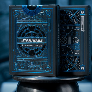 Star Wars Light Side Blue Playing Cards by theory11 (4203)