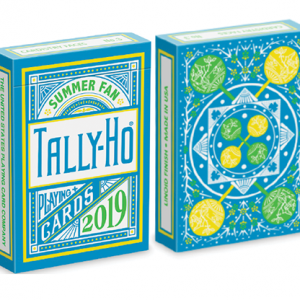 Tally Ho Fan Back Summer Playing Cards (4964)