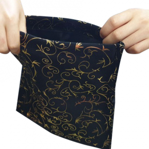 Tear Apart Change Bag Black-Gold (0124-J1)