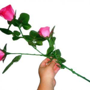 Triple Lighting Rose Bouquet (4884)