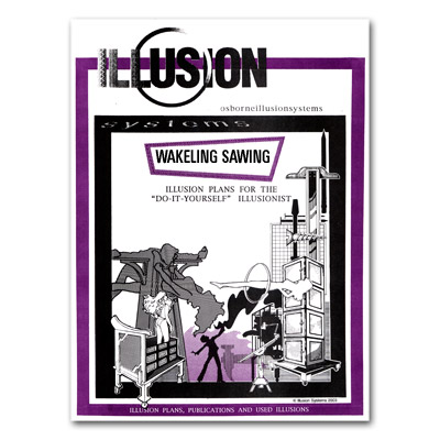 Wakeling Sawing Illusion Bouwtekening (BT026)