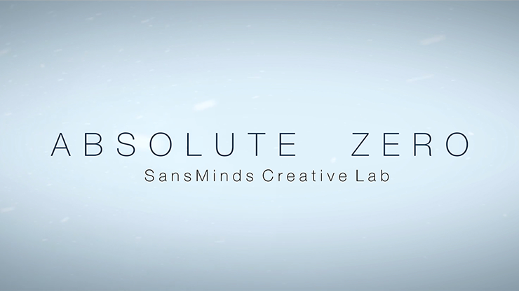 Absolute Zero (Gimmick & Online Video) by SansMinds (0801)