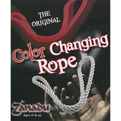 Amazing Color Changing Rope White to Red by Zanadu (4304)