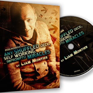 Any Shuffled Deck - Self Working Impromptu Miracles DVD (DVD955)