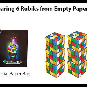 Appearing Rubiks from Tora Magic (4423)