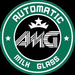 Automatic Milk Glass by Aprendemagia (4420-X4)