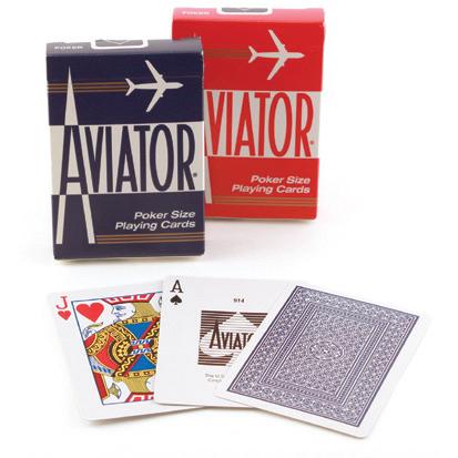 Aviator Poker Kaarten (0211P)
