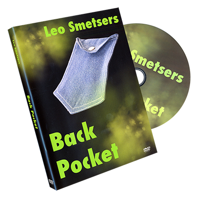 Back Pocket DVD and Gimmick by Leo Smetsers (DVD779)