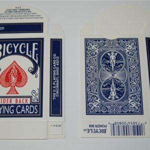Bicycle Kaartendoosje Leeg Blauw (1898)