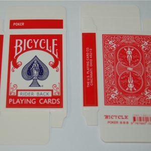 Bicycle Kaartendoosje Leeg Rood (1897)