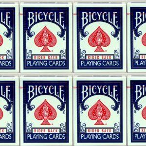 Bicycle Poker Kaarten Old Style BLAUW DOZIJN (op=op)