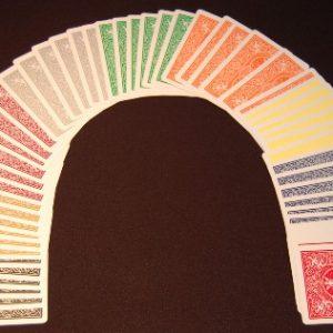 Bicycle Poker Rainbow Deck Bicycle DMS (2480)