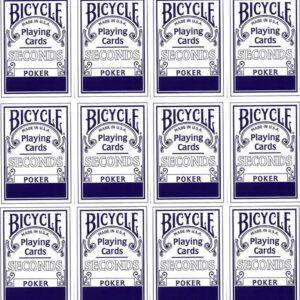 Bicycle Poker Seconds DOZIJN BLAUW