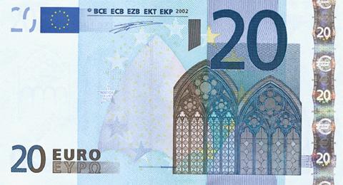 Flash Biljetten 20 Euro (1288)