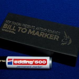 Bill To Marker by Nicholas Einhorn (4084)