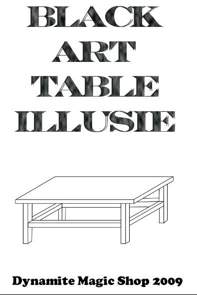 Black Art Table Illusie NL CD-Rom (CDR001)