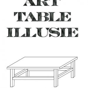 Black Art Table Illusie NL CD-Rom (CDR001)
