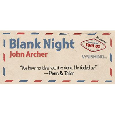 Blank Night (Blue) by John Archer (3427)