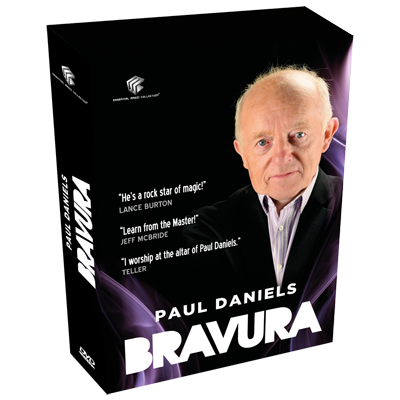 Bravura by Paul Daniels and Luis de Matos DVD (DVD796)