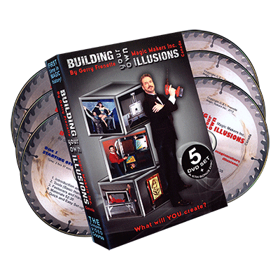 Building Your Own Illusions DVD-Set by Gerry Frenette (DVD666)