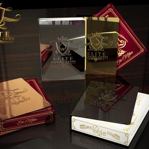 Elite Kaart Klem Vintage  Gold 24K Plated (4137)
