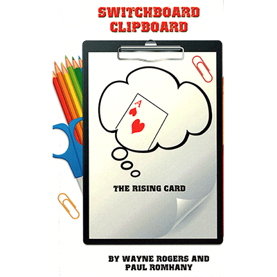 Switchboard Clipboard the Rising Card by Paul Romhany (B0277)