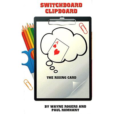Switchboard Clipboard the Rising Card by Paul Romhany (B0277)