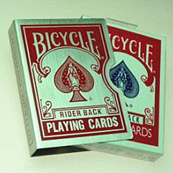 Card Guard Bicycle Red (3845)