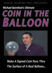 Coin in Balloon DVD (DVD253)
