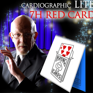 Cardiographic LITE Red Card by Martin Lewis (4627-X7)