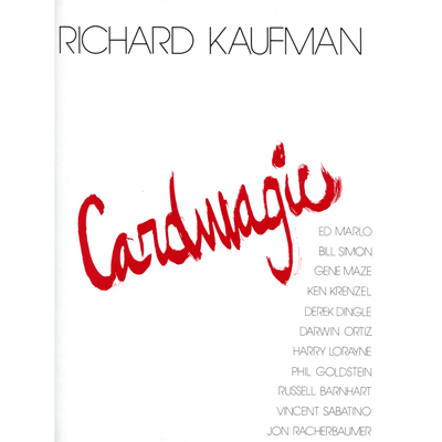Card Magic by Richard Kaufman Boek (B0289)