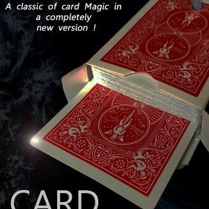 Card on Ribbon by Mickael Chatelain & Hollow Hole Bonus (4325)
