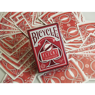 Bicycle Flight Deck (Red or Blue) by US Playing Card (3761)