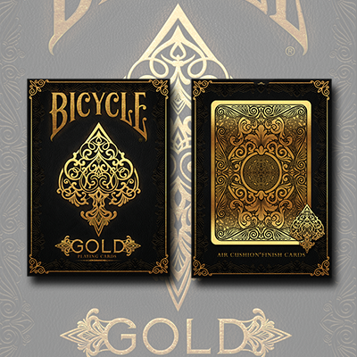 Bicycle Gold Deck by US Playing Cards (3787)