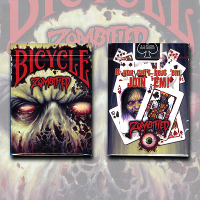 Bicycle Zombified Deck by US Playing Card (3700)