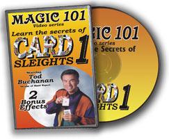 Card Sleights DVD (DVD291)
