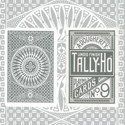 Tally Ho Circle Deck (Silver) LIMITED EDITION (3512)