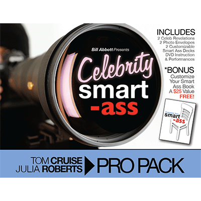 Celebrity Smart Ass Bundle Tom Cruise and Julia Roberts (3572Z5)