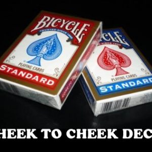 Cheek to Cheek Deck Bicycle & Online Video (1246)