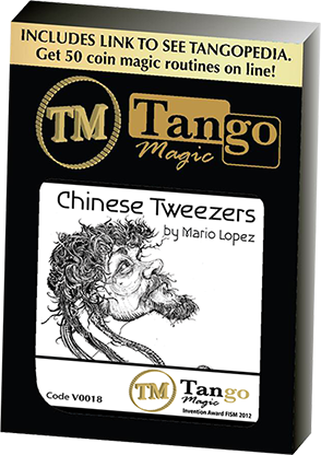 Chinese Tweezers by Mario Lopez and Tango Magic (4263)