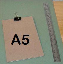 Clipboard A5 (0409D1)