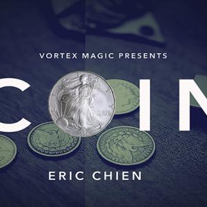 COIN by Eric Chien & Vortex Magic (DVD928)