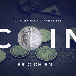 COIN by Eric Chien & Vortex Magic (DVD928)